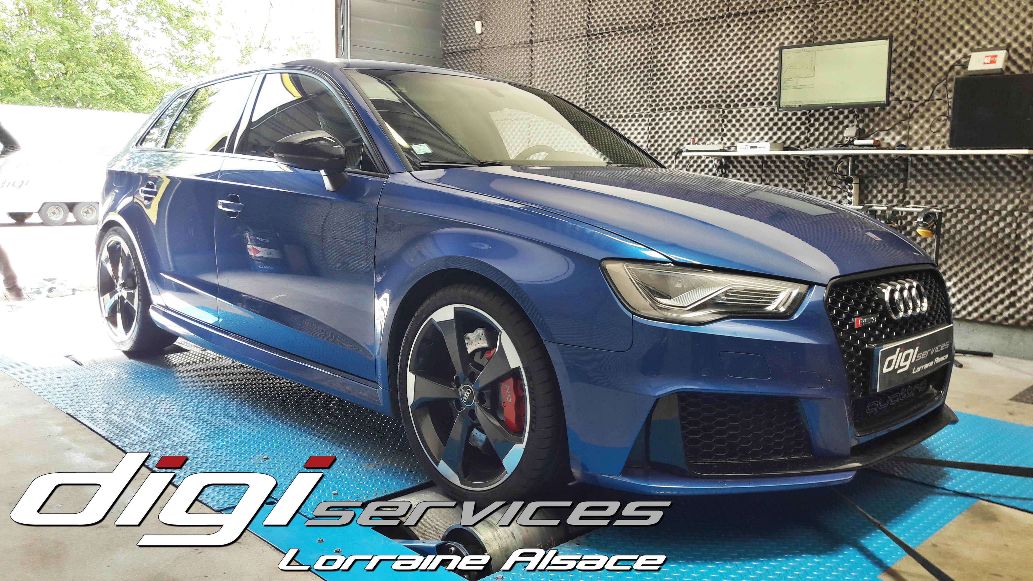 Reprogrammation Audi RS3 - Digiservices Epinal Lorraine Alsace