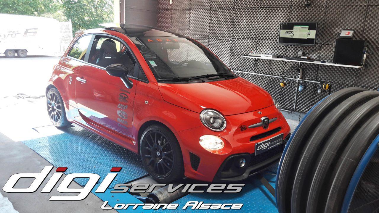 Reprogrammation moteur Fiat Abarth